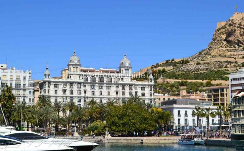Marina in Alicante City Spain one of many things to do and places to visit