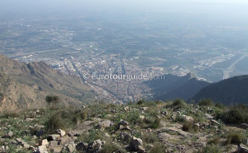 Sierra de Callosa Alicante