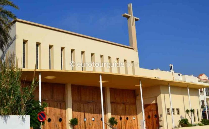 Tourist information in Cabo de Palos Mar Menor Costa Calida Murcia Spain, will tell you about the church services one of many things to do and places to visit here.
