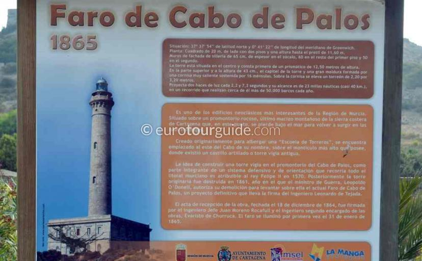 Things to do  in Cabo de Palos Mar Menor Costa Calida Murcia Spain, visit the lighthouse or Faro one of many places to visit here.