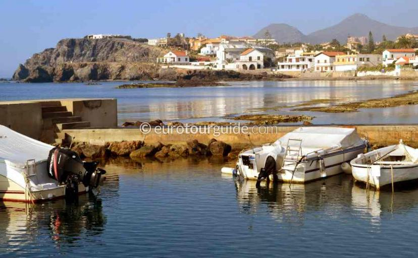 Holiday in Cabo de Palos Mar Menor Costa Calida Murcia Spain, exploring the village is one of many things to do and places to visit here.