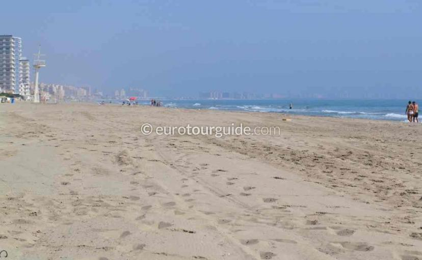 Things to do  in La Manga Mar Menor Costa Calida Murcia Spain, Lazing on the beach one of many places to visit here.