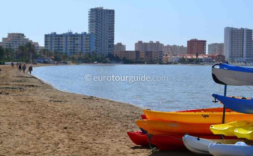 Top 10 things to do in La Manga Mar Menor Costa Calida Murcia Spain, Learn to Canoe one of many things to do and places to visit here.