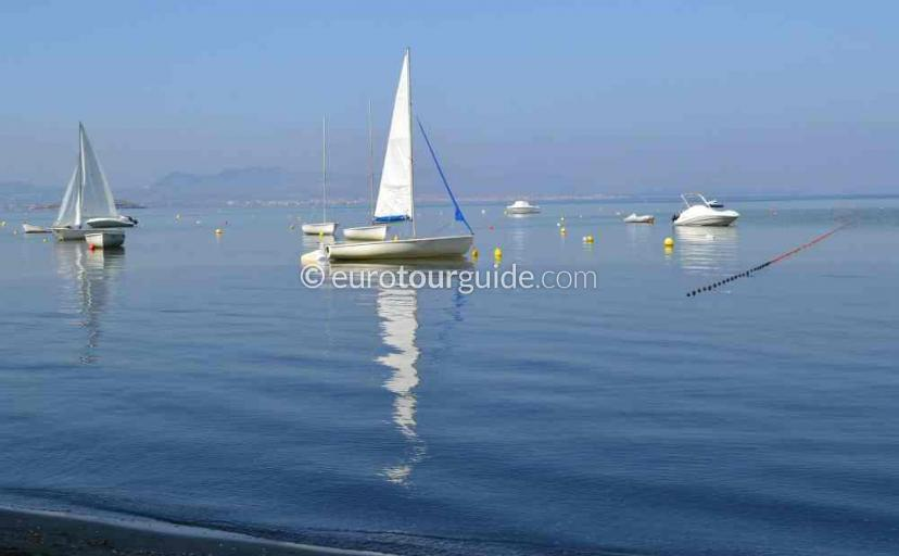 What's on in La Manga Mar Menor Costa Calida Murcia Spain, the Regattas are often on here one of many things to do and places to visit here.