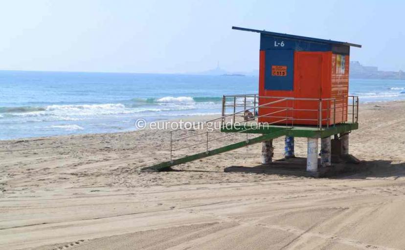 Tourist information in La Manga Mar Menor Costa Calida Murcia will have the lifeguard duty times for the season