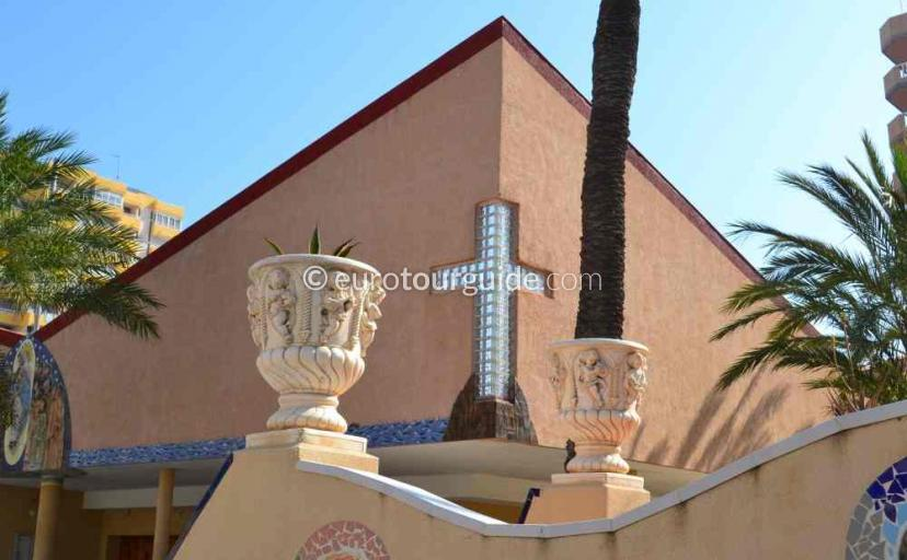 What's on in La Manga Mar Menor Costa Calida Murcia Spain, the Church holds regular services one of many things to do and places to visit here.