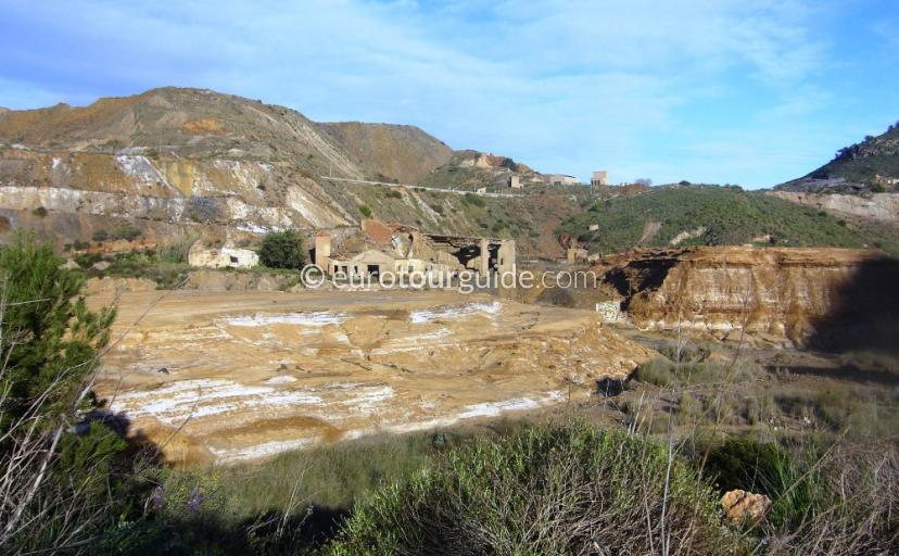 Where to go in the Sierra Mineras Murcia Spain, Driving around this part of Spain is full of history of the mining era