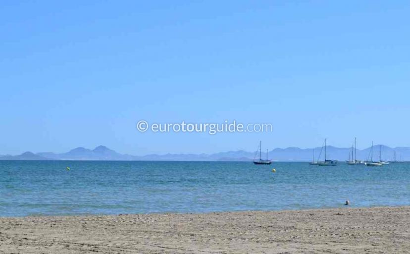 Holiday in Lo Pagan Mar Menor Costa Calida Murcia Spain, Painting the scenery is one of many things to do and places to visit here