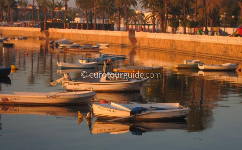 Things to do in Lo Pagan Mar Menor Costa Calida Murcia Spain, enjoying the views along the promenade one of many places to visit here.