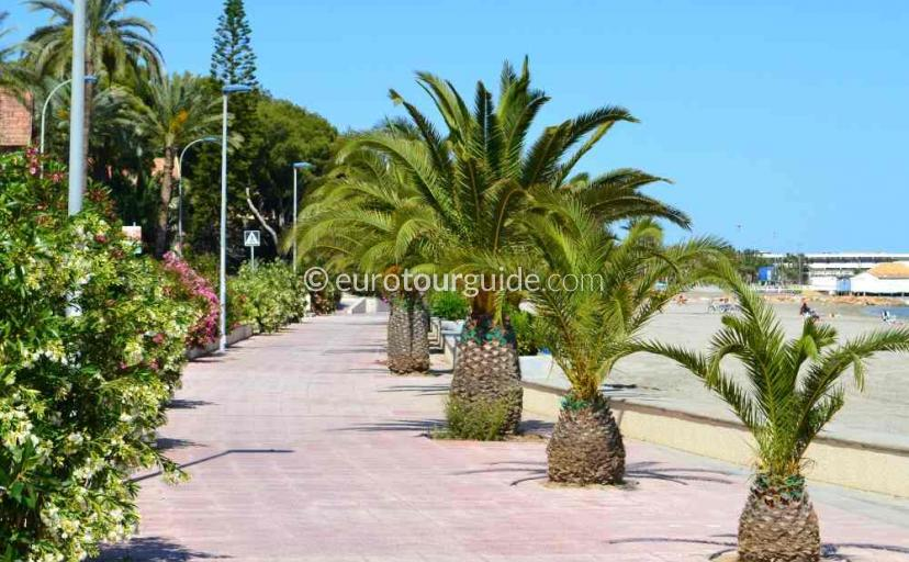 Top 10 things to do in and around Lo Pagan Mar Menor Costa Calida Murcia Spain, Take a stroll along the promenade one of many things to do and places to visit here.