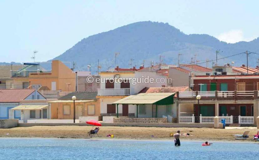 Property to rent in Los Nietos area Mar Menor Costa Calida Murcia Spain, the Beach is one of many things to do and places to visit here.