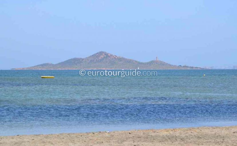 Holiday in Los Nietos Mar Menor Costa Calida Murcia Spain, take a boat trip to one of the islands one of many things to do and places to visit here.