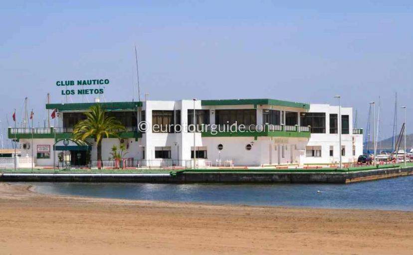 Places to visit in Los Nietos Mar Menor Costa Calida Murcia Spain, the Club Nautico is nice for a meal one of many things to do.