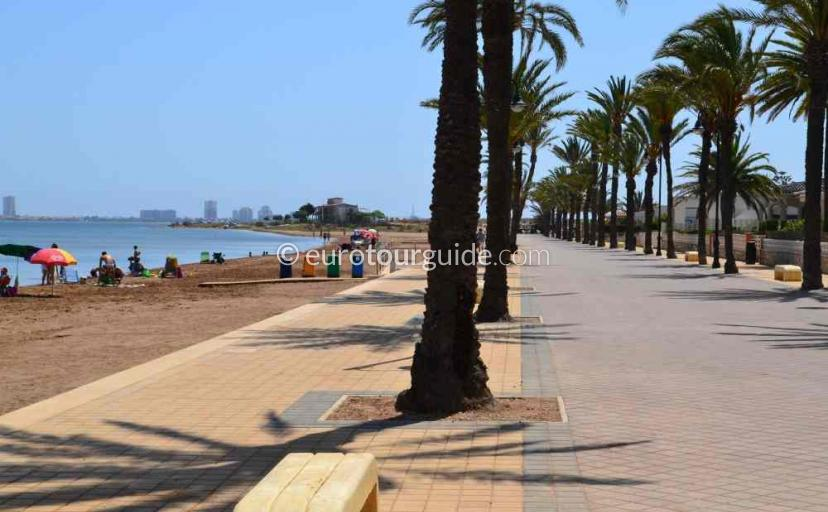 Places to visit in Mar de Cristal Mar Menor Costa Calida Murcia Spain, Walking is one of many things to do.
