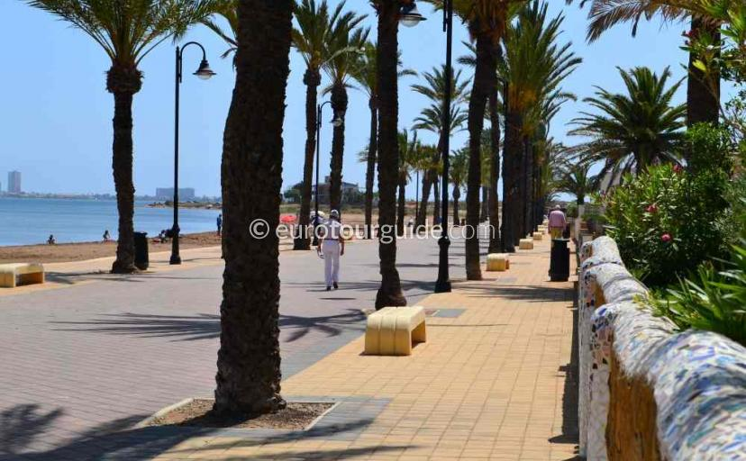 Things to do in Los Urrutias Mar de Cristal Costa Calida Murcia Spain, Stroll along the promenade one of many places to visit here.