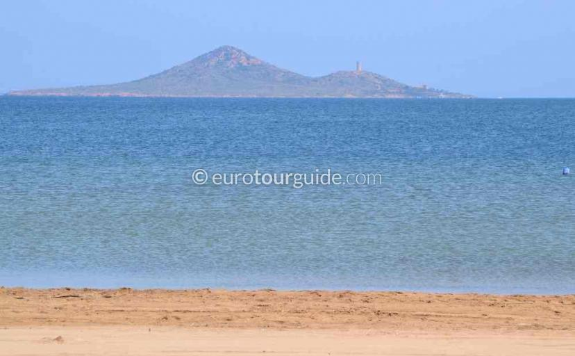 Places to visit in Mar de Cristal Mar Menor Costa Calida Murcia Spain, painting a perfect picture one of many things to do.