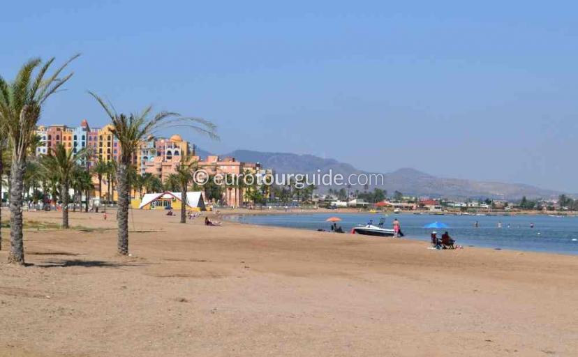 Where to go in Playa Honda Mar Menor Costa Calida Murcia Spain, the beach is one of many things to do and places to visit here.