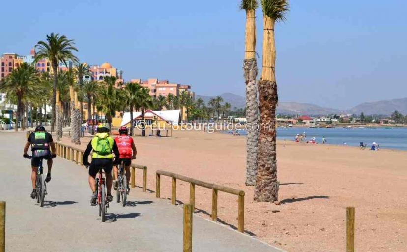 Holiday in Playa Honda Mar Menor Costa Calida Murcia Spain