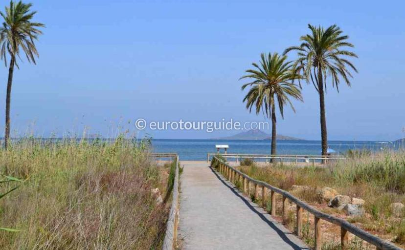 Places to visit in Playa Honda Mar Menor Costa Calida Murcia Spain, enjoying the flora and faunais  one of many things to do.