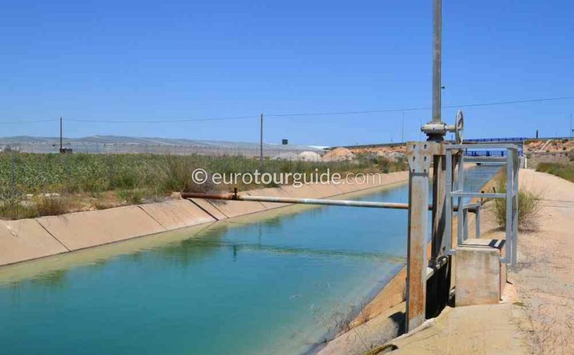 Top 10 things to do in and around San Cayetano Murcia Spain, Walking beside the Water Channels one of many things to do and places to visit here.
