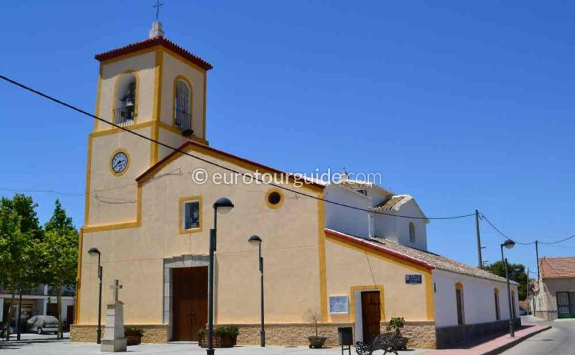 What's on in San Cayetano Murcia Spain, Church Service every Sunday