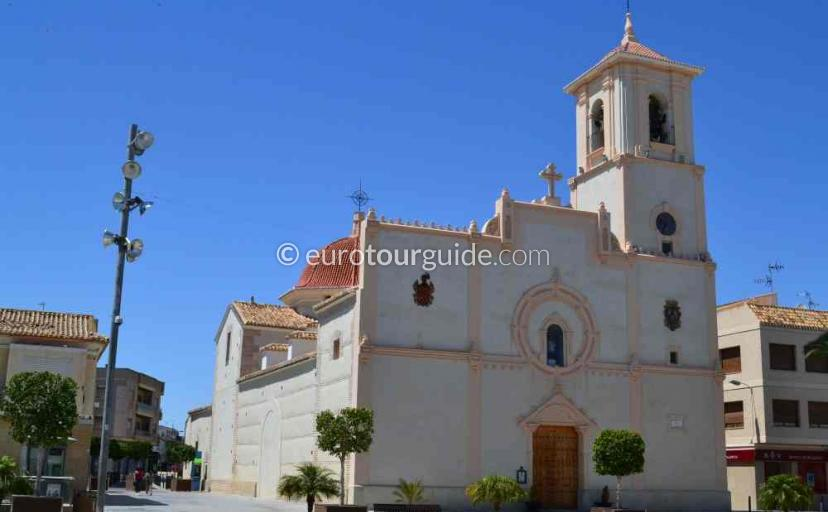 Things to do in San Javier Murcia Spain, explore the Church one of many places to visit here.