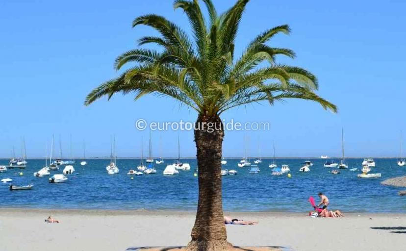 Where to go in Santiago de la Ribera Mar Menor Murcia Spain, the Coastline is a great place to see with walking and cycling two options for you.