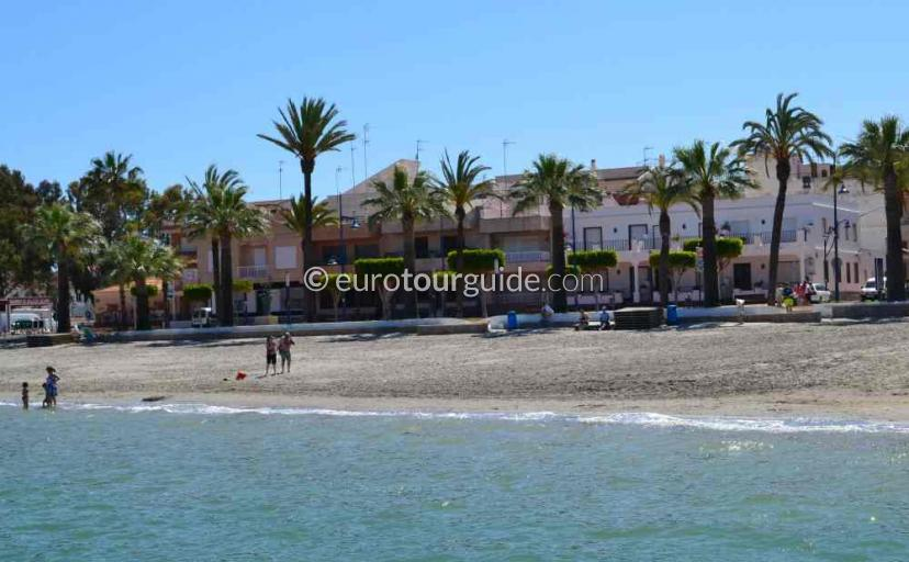 Places to visit in Santiago de la Ribera Mar Menor Murcia Spain, swimming in the mar menorone of many things to do.