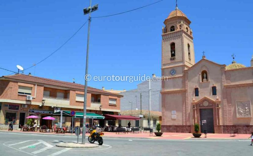 Where to eat in Sucina Murcia Spain, Cafes and Bars in the Village Square is one popular option