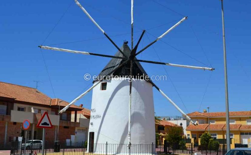 Places to visit in Torre Pacheco Murcia Spain, Exploring the windmill route is one of many things to do.