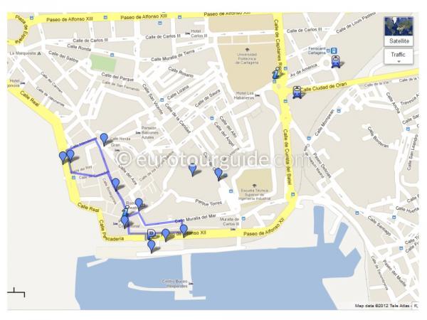 Day Out Cartagena City Costa Blanca South Euro Tour Guide