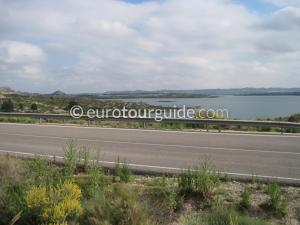 EuroTourGuide Scenic Drive Pedrera Reservoir