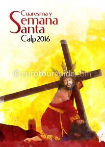 Calpe Calp Easter Parades and Processions Programme Semana Santa 2016