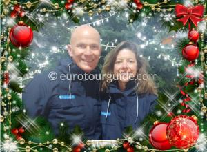 EuroTourGuide Coach Tours Christmas Wishes 2020 Jessica & David Hayes