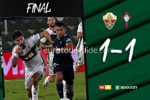 EuroTourGuide Match Report Elche CF v Celta Vigo 6th November 2020
