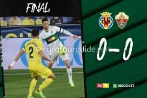 EuroTourGuide Match Report Villarreal v Elche CF6th December 2020