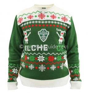 EuroTourGuide Elche CF Christmas Jumper & Matches