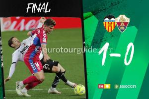 EuroTourGuide Elche CF Match Report  v Valencia 30th January 2021