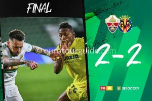 EuroTourGuide Match Report Elche CF v Villareal 7th February 2021