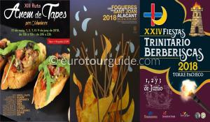 What's on in the Costa Blanca and Costa Calida 3rd June 2018