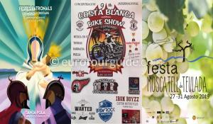 What's on in the Costa Blanca and Costa Calida 1st September 2019