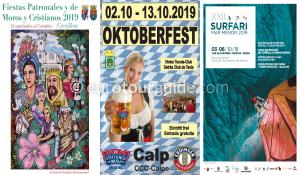 EuroTourGuide What's on in the Costa Blanca and Costa Calida 6th October 2019