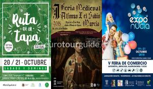 What's on in the Costa Blanca and Costa Calida 21st October 2018