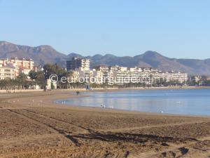Where to go in and around Mazarron Area Murcia Spain, Mazarron beach is one of many places to visit and things to do