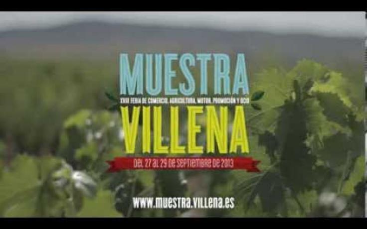 Muestra Villena, del 27 al 29 de septiembre de 2013