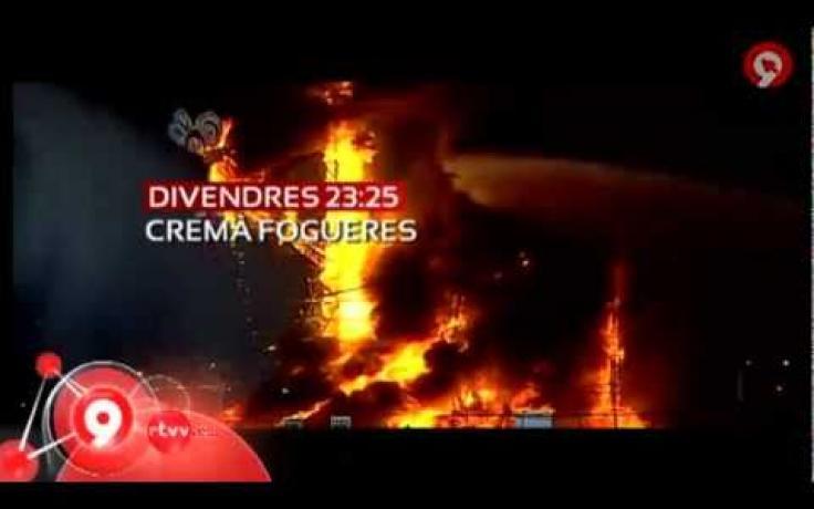 RTVV La crema de les Fogueres, este divendres a TVV