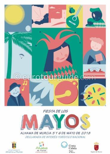 Alhama de Murcia Fiesta de los Mayos 5th-6th May 2018
