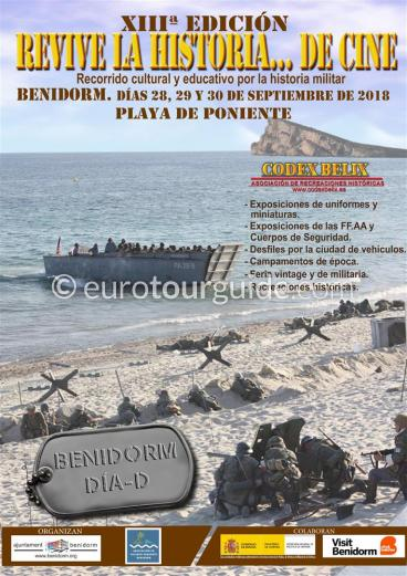 Benidorm XIII Codex Belix D-Day 28th, 29th & 30th September 2018
