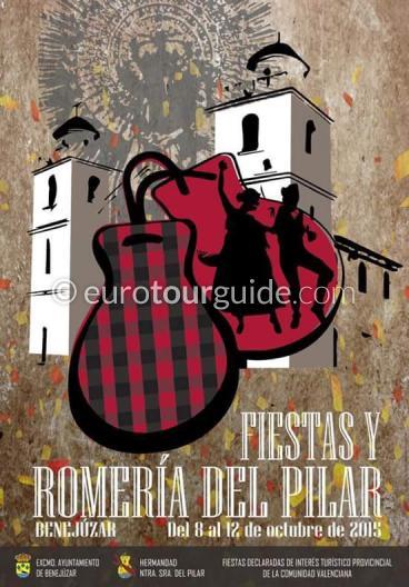 Benejuzar Fiesta del Pilar 8th-12th October 2015