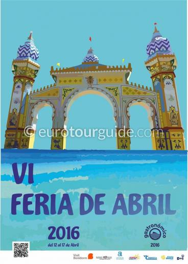 Benidorm April Fair Feria de Abril 12th-17th April 2016